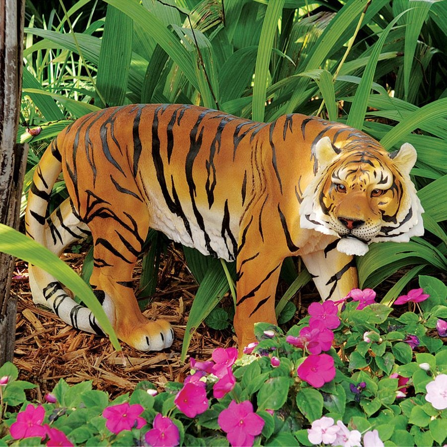 Shop Design Toscano Power and Grace Sumatran Tiger 14 in Animal