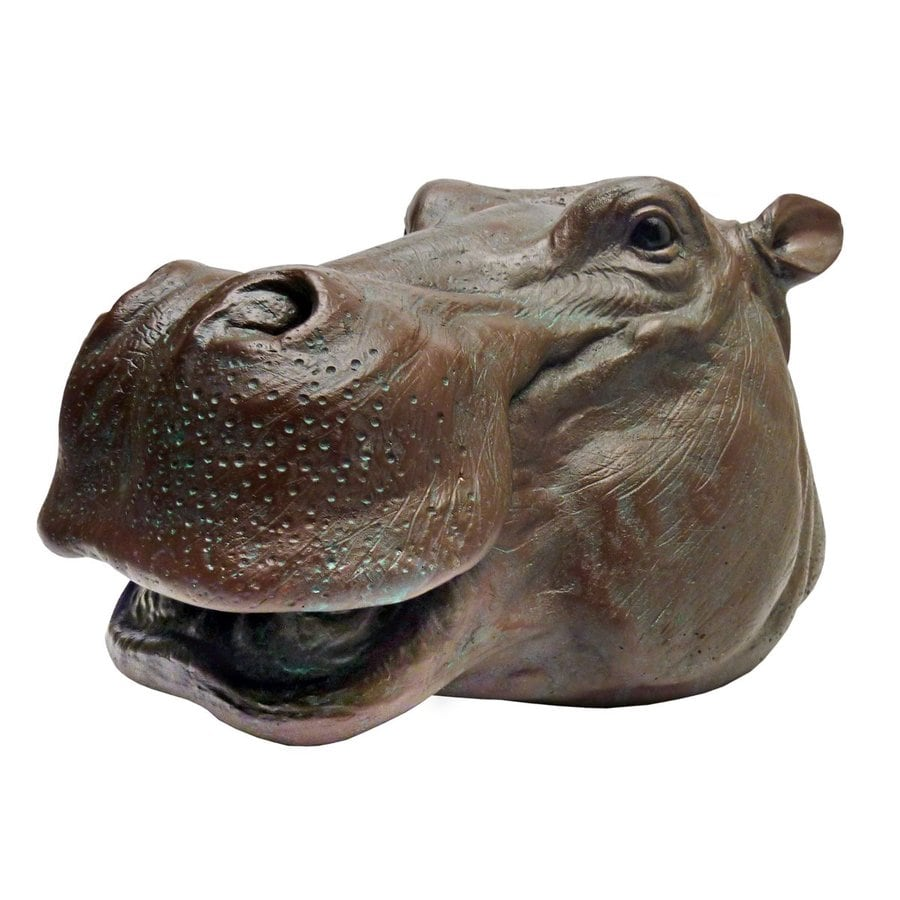 Shop Design Toscano Huey The Hippo 7 5 In Animal Garden
