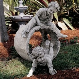 Design Toscano Hide And Seek 29 In Garden Statue