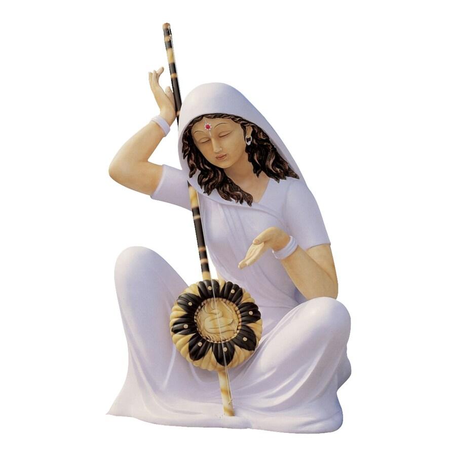 Design Toscano Serene Mira Bai 29-in Religion Garden Statue