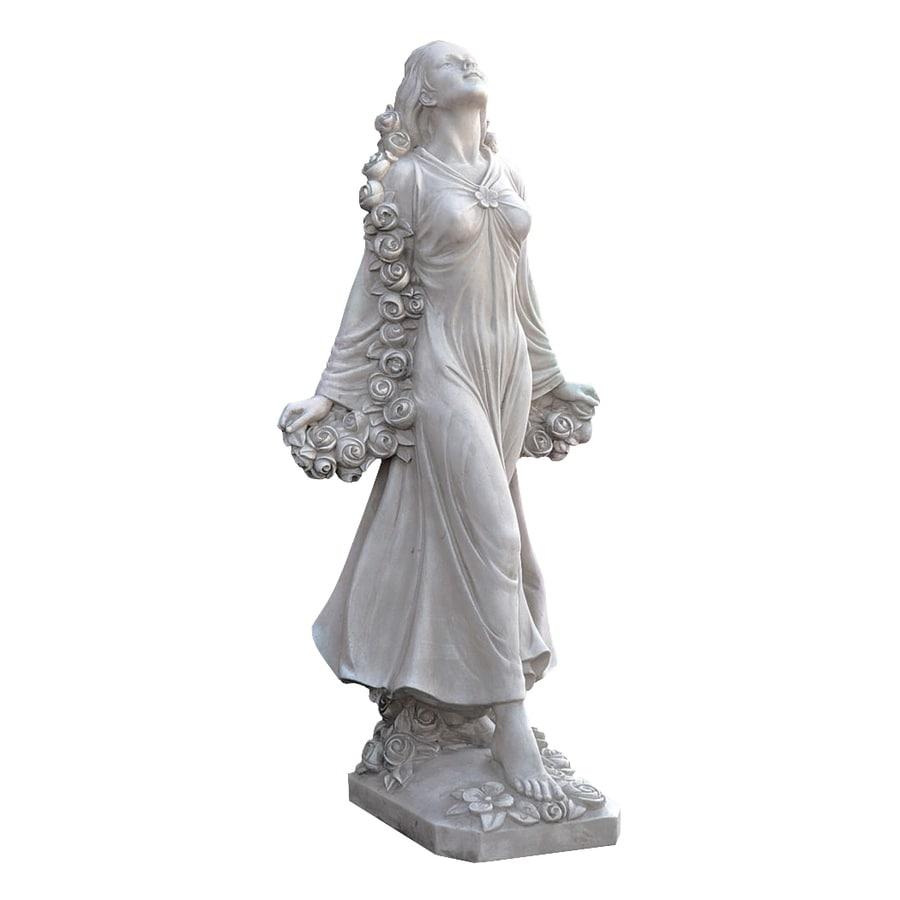 Design Toscano Flora, Divine Patroness Of Gardens 30.5-in Garden Statue