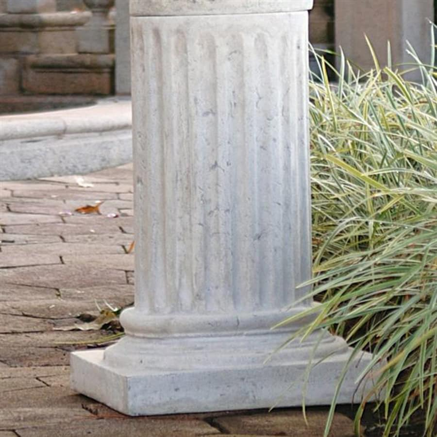 Design Toscano Roman Column Plinth 25-in Architecture Garden Statue