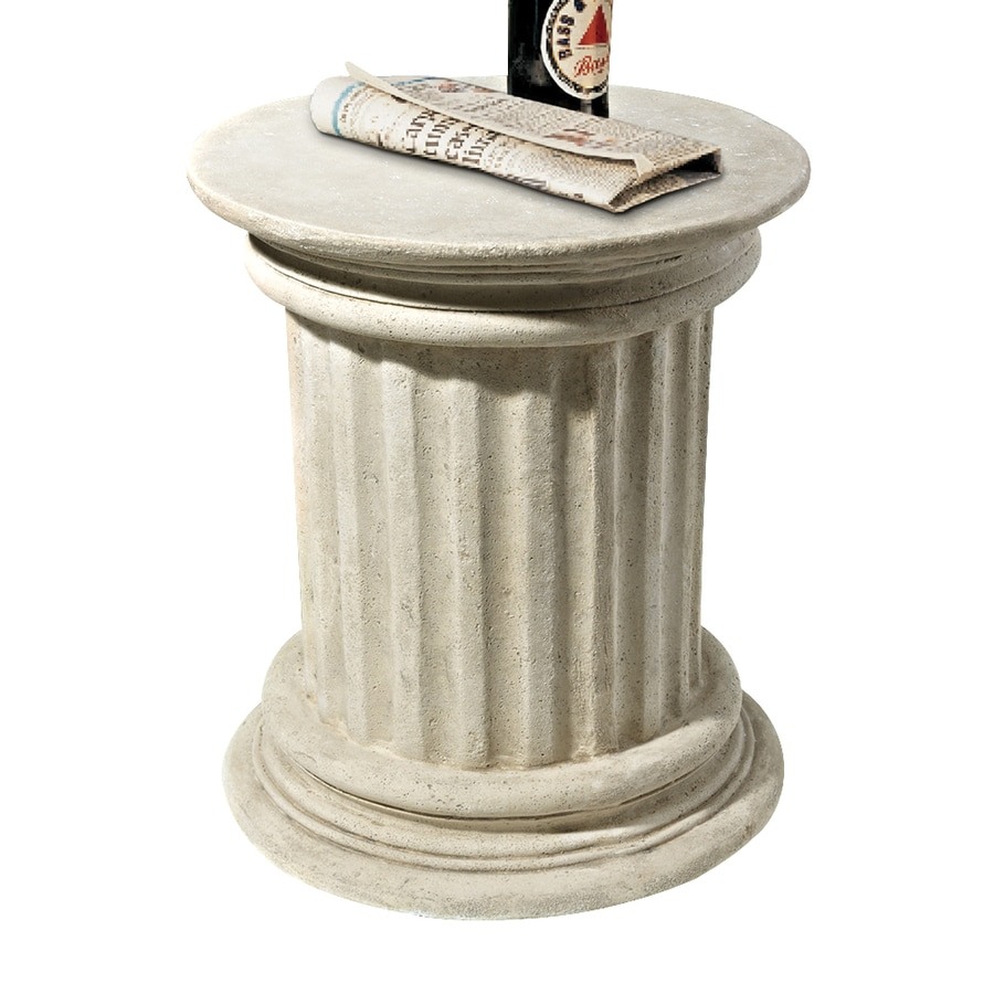 Design Toscano Roman Corinthian Capital Plinth 18-in Architecture Garden Statue