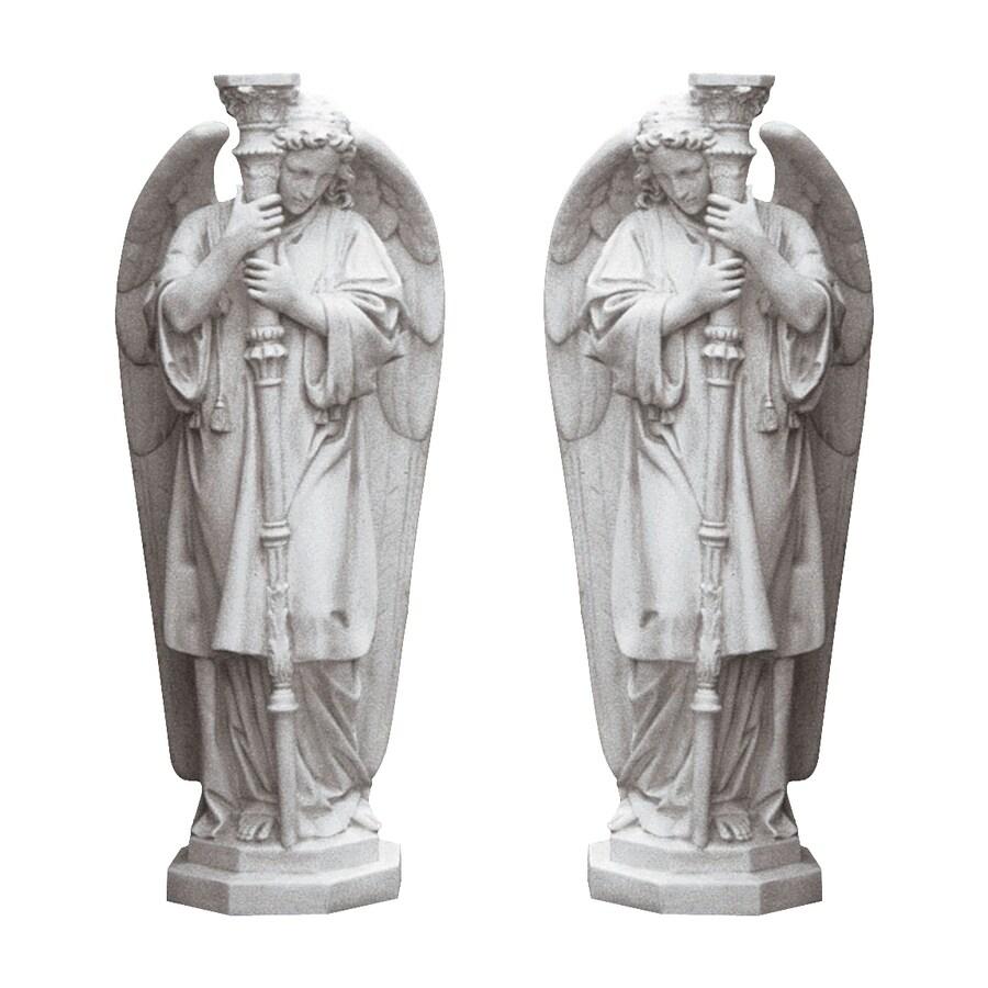 Design Toscano Padova Guardian Angel Set 38-in Angels and Cherubs Garden Statue