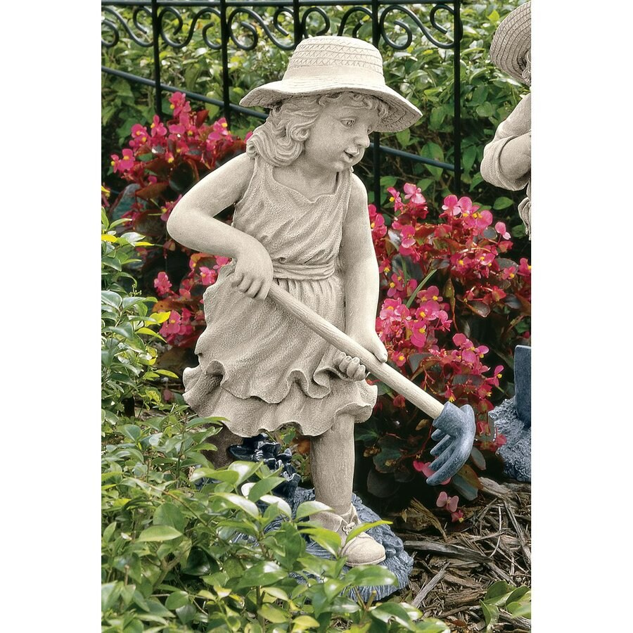 Design Toscano Rebecca The Young Gardener 21.5-in Garden Statue