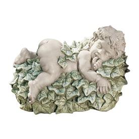 Design Toscano Natureu0027s Baby Peaceful Garden Nap 9.5 In Angels And Cherubs Garden  Statue