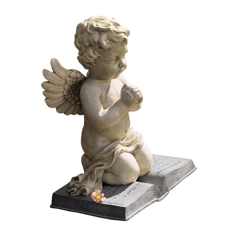 Design Toscano Cherubu0027s Prayer 15 In Angels And Cherubs Garden Statue