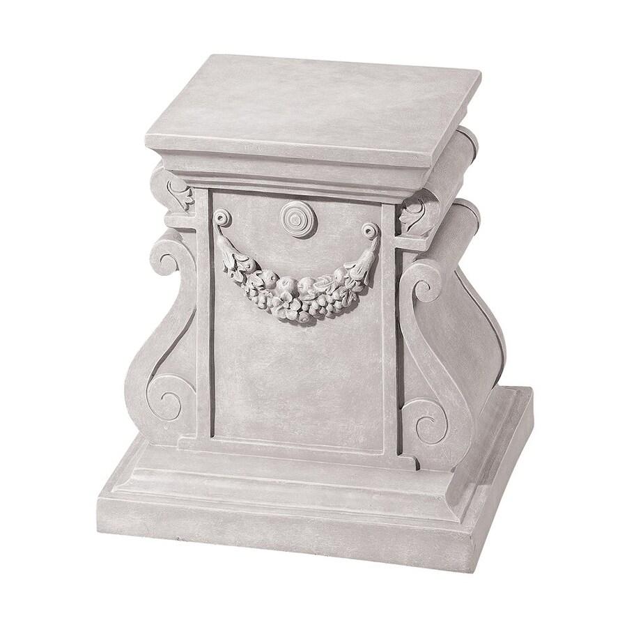 Design Toscano Classic Statuary Plinth 15-in Architecture Garden Statue