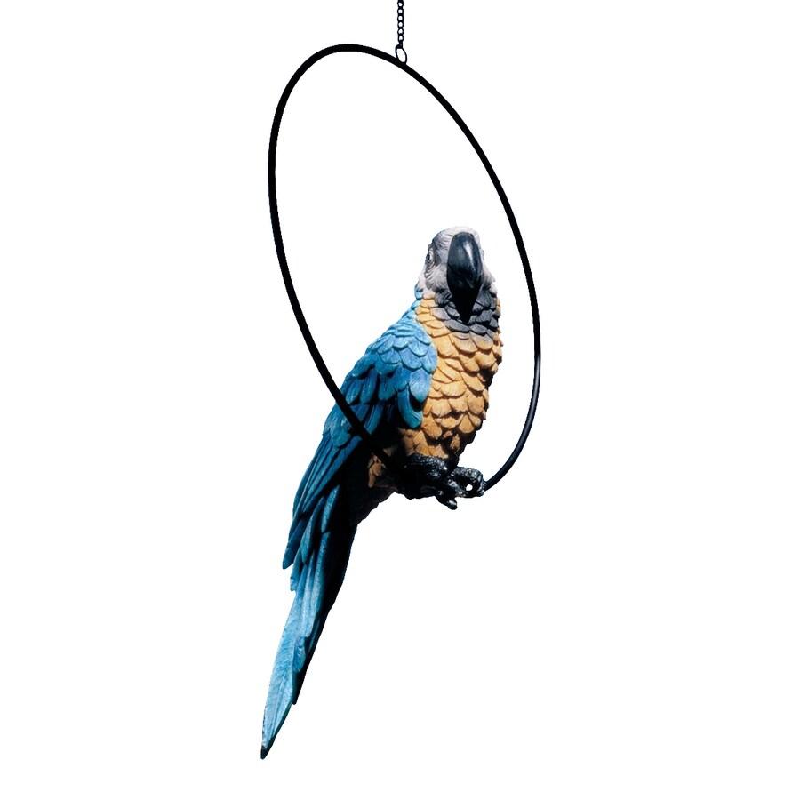 Design Toscano Polly In Paradise 17.5-in Animal Garden Statue
