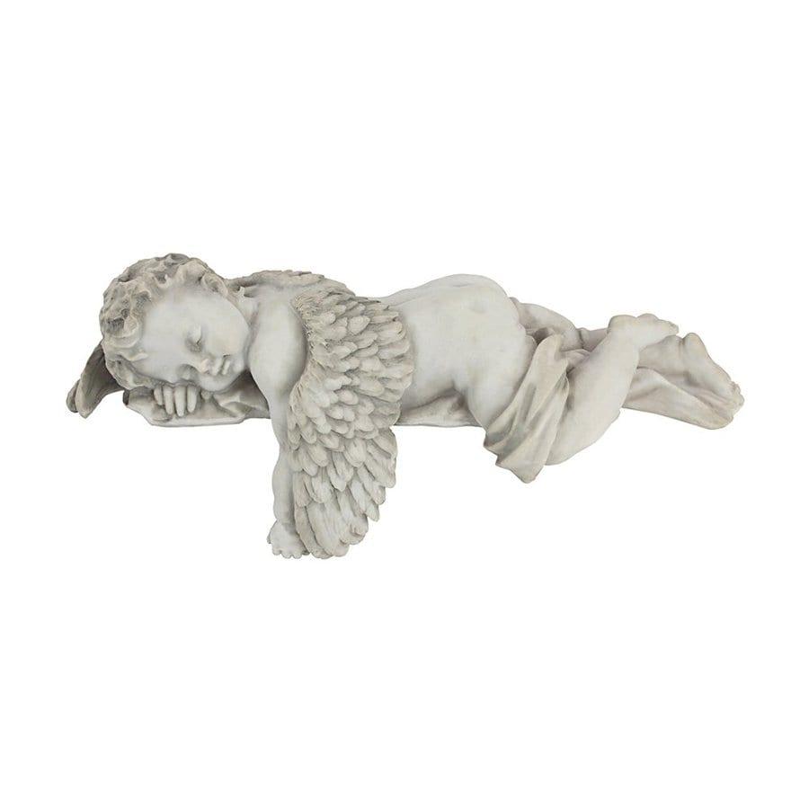 Design Toscano Sleepy Time 5-in Angels and Cherubs Garden Statue