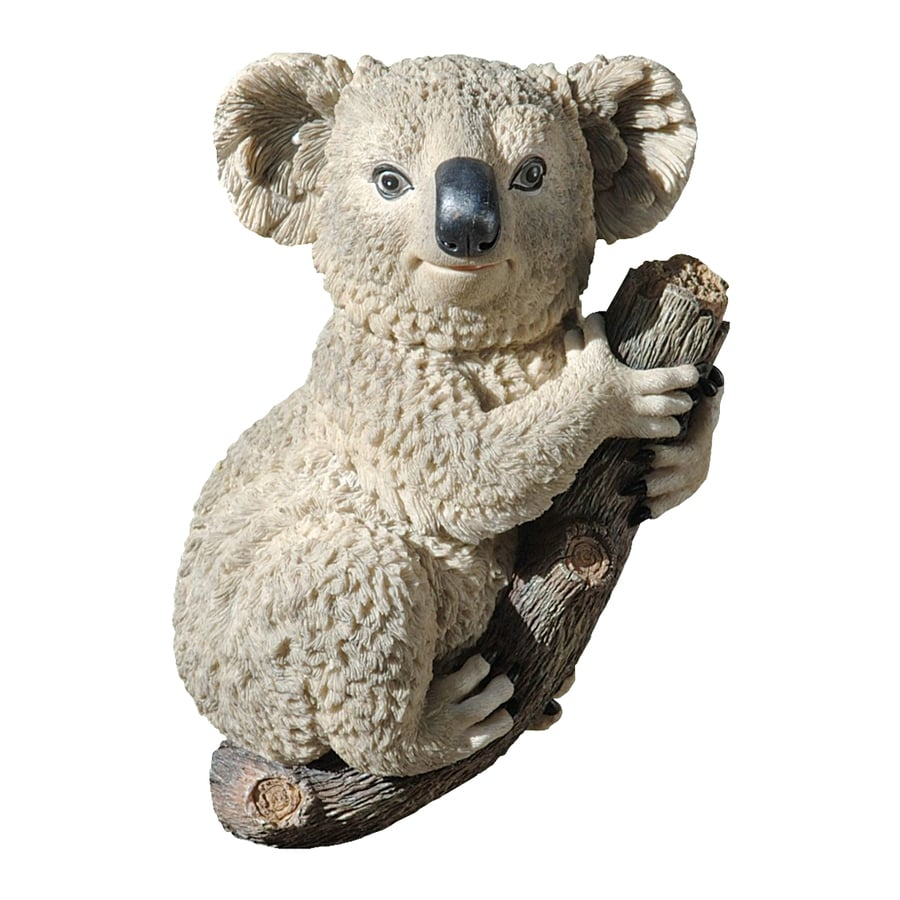 Design Toscano Kouta The Climbing Koala 13-in Animal Garden Statue