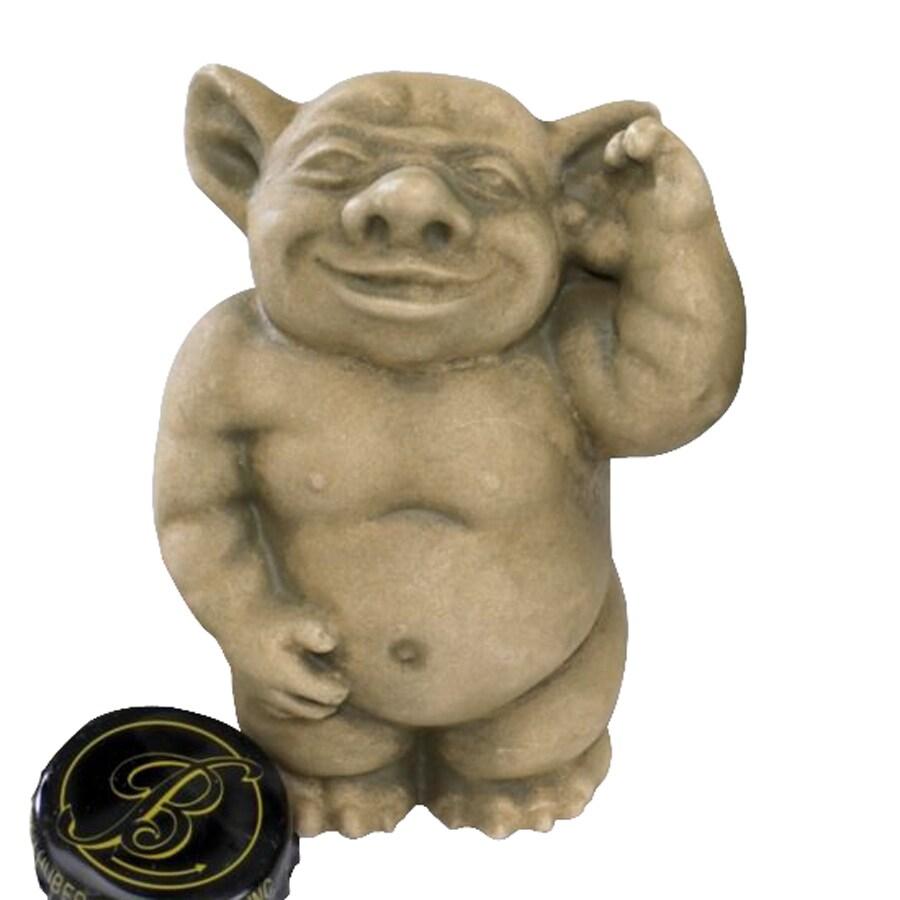 Design Toscano Picc-A-Dilly Ear Gargoyle 15-in Goblin Garden Statue