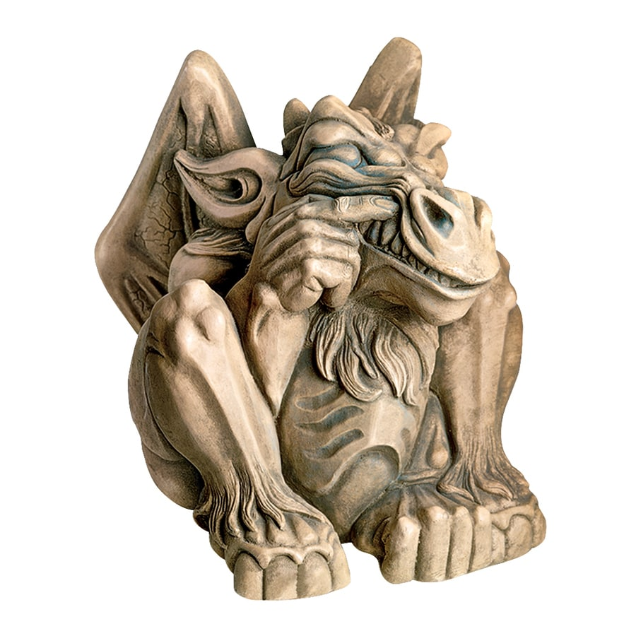 Design Toscano Feast On Fools Gargoyle 14-in Garden Statue