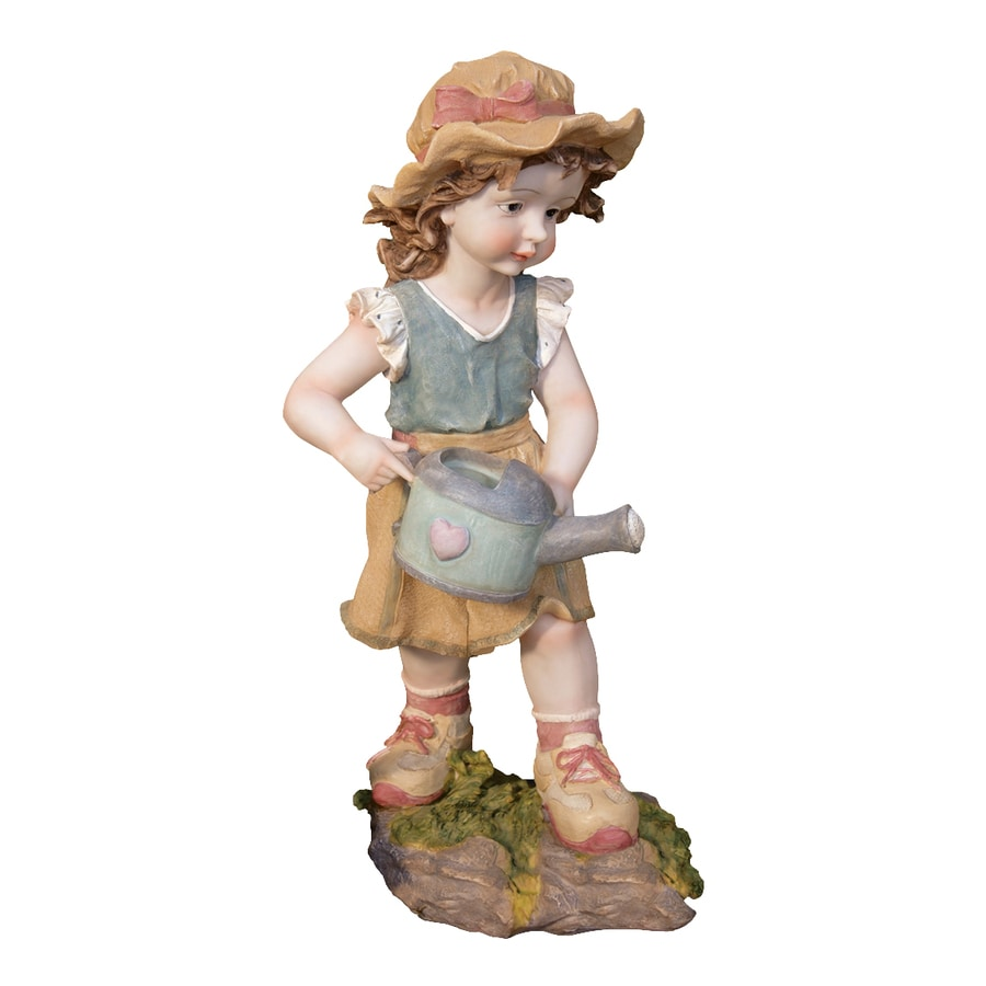 Design Toscano Farmer Fanny 19-in Children Garden Statue