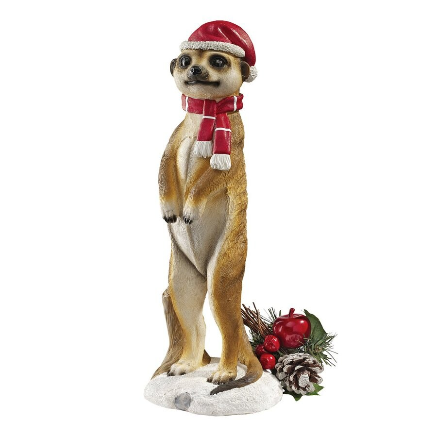 Design Toscano Merry Meerkat Meerkat Sculpture