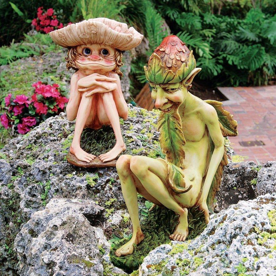 Design Toscano Svenska and Theodor Garden Trolls Garden Statues