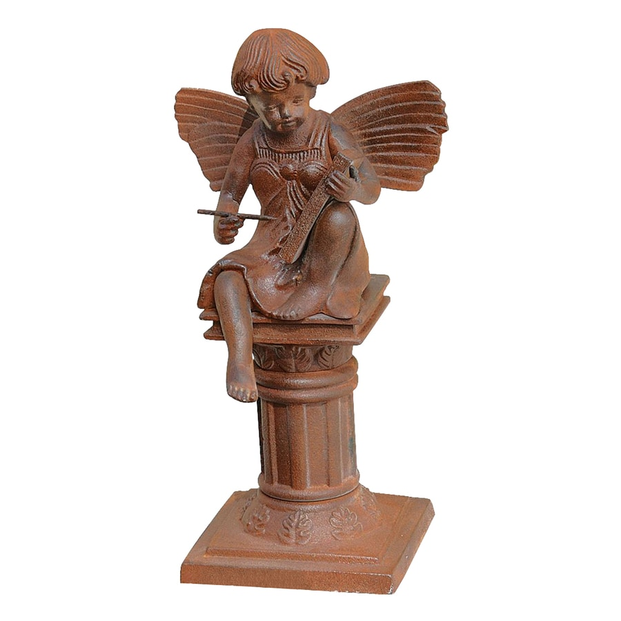 Design Toscano Reading Fairy Of The Humanities 13.5-in Garden Statue