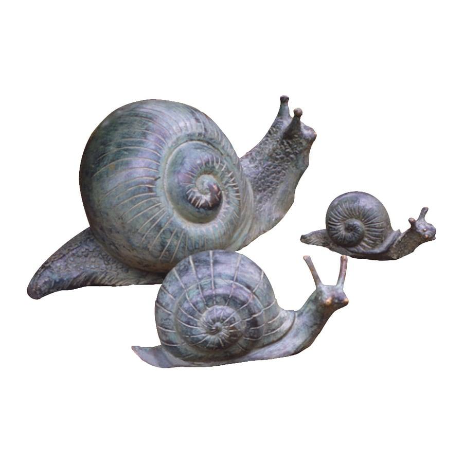 Design Toscano Bronze Snails Animal Garden Statue