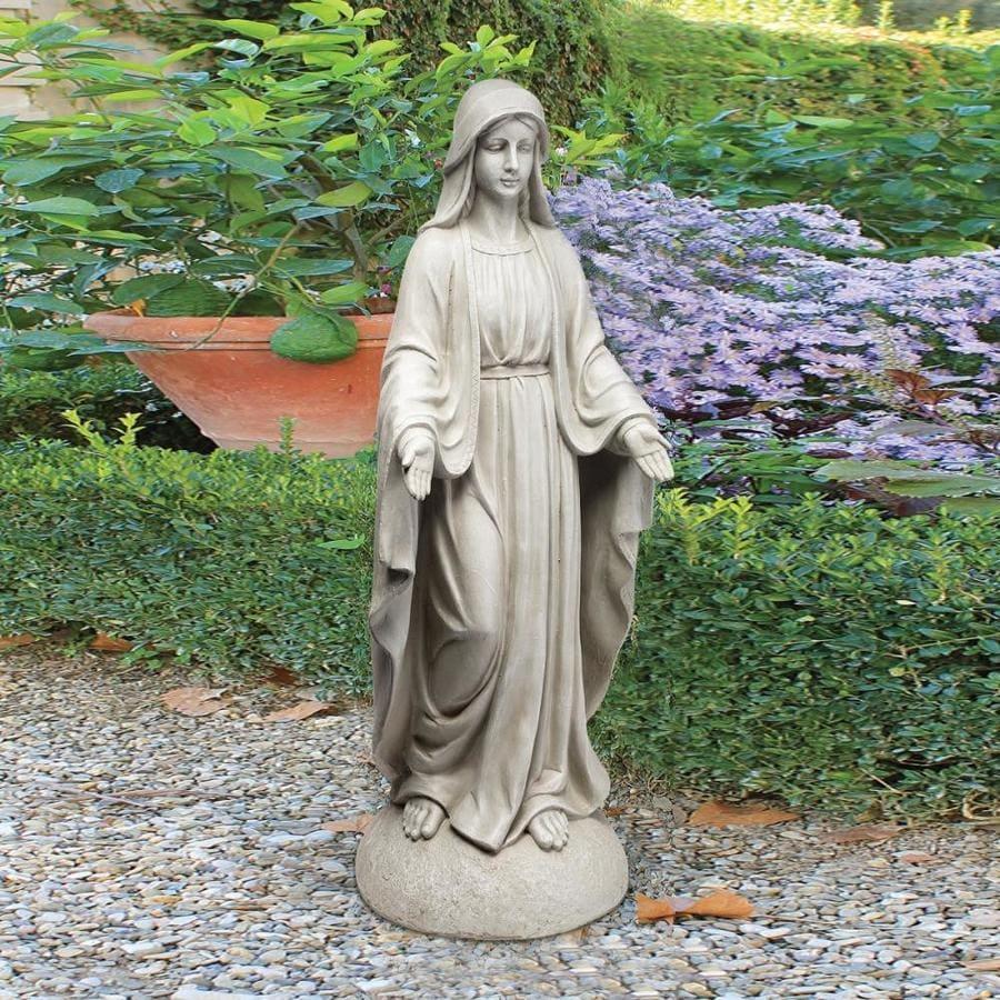 Design Toscano Madonna Of Notre Dame 36 In Religion Garden Statue