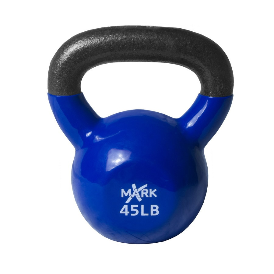 Xmark Fitness 45 lbs Fixed-Weight Kettlebell