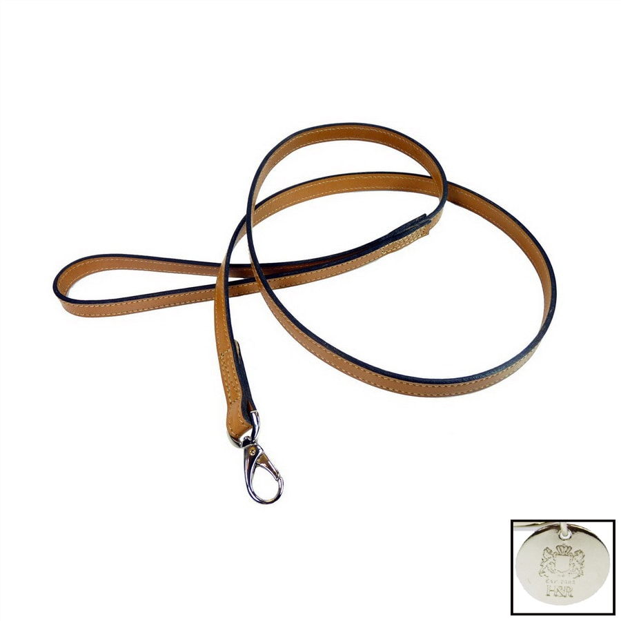 Hartman & Rose Buckskin Leather Dog Leash