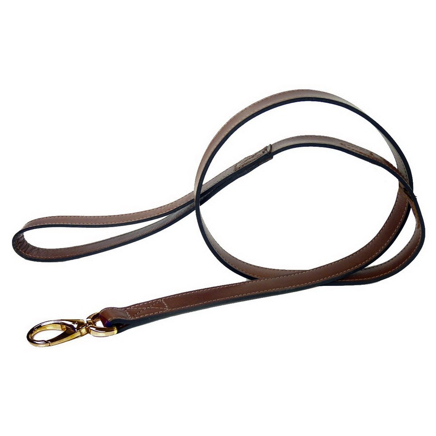 Hartman & Rose Sepia Brown Leather Dog Leash