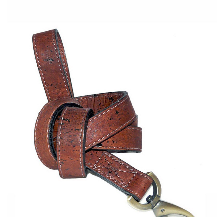 Hartman & Rose Burnt Umber Leather Dog Leash
