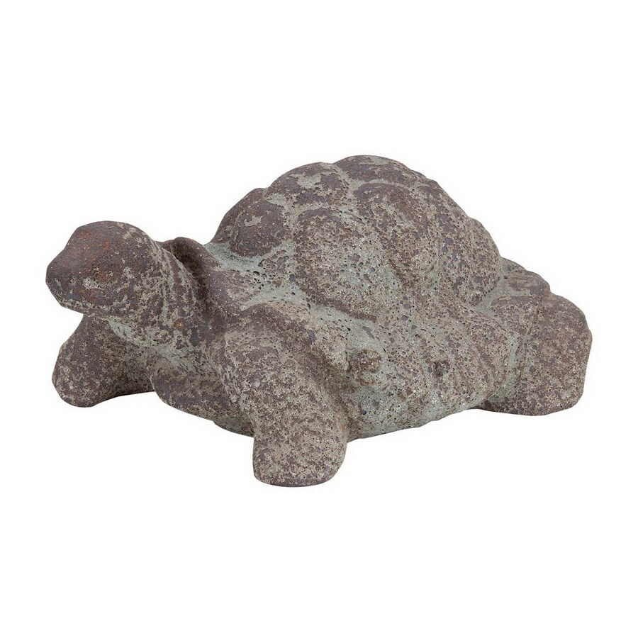 Woodland Imports 6-in H Turtle Garden Statue
