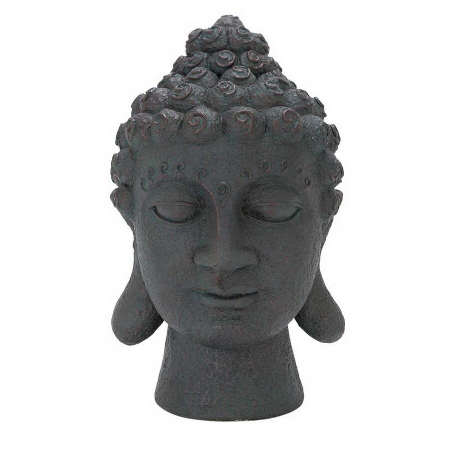 Woodland Imports 16 In H Buddha Head Garden Statue
