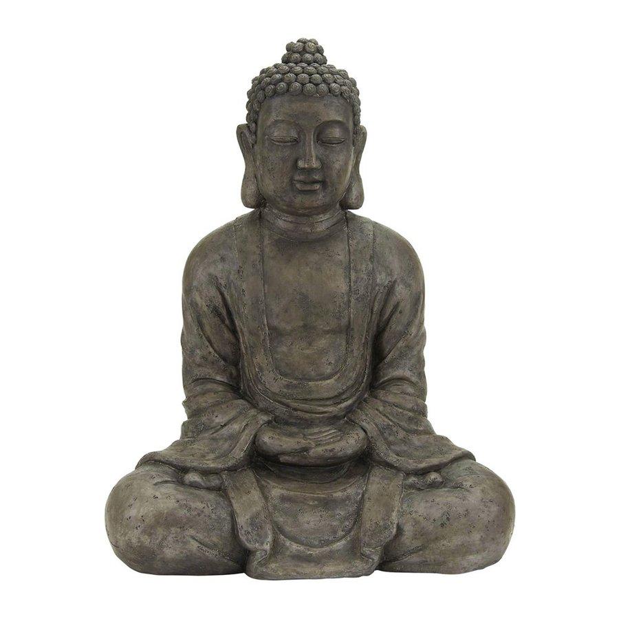 Woodland Imports Buddha 31-in Religion Garden Statue