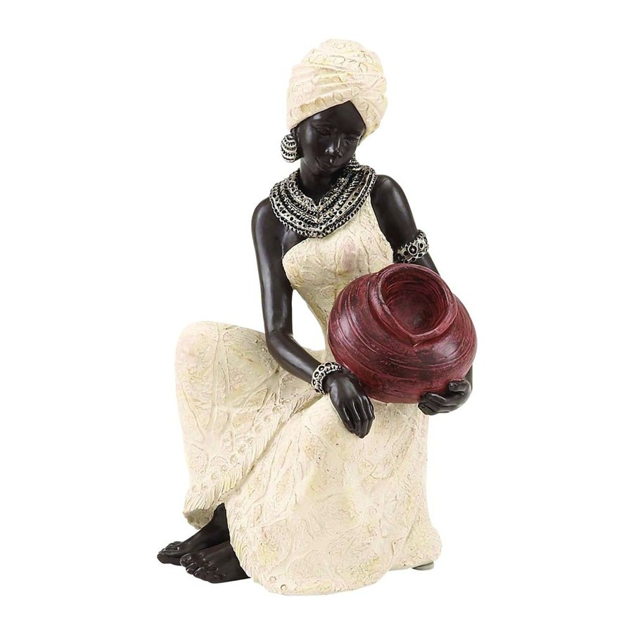 Woodland Imports African 10-in Garden Statue