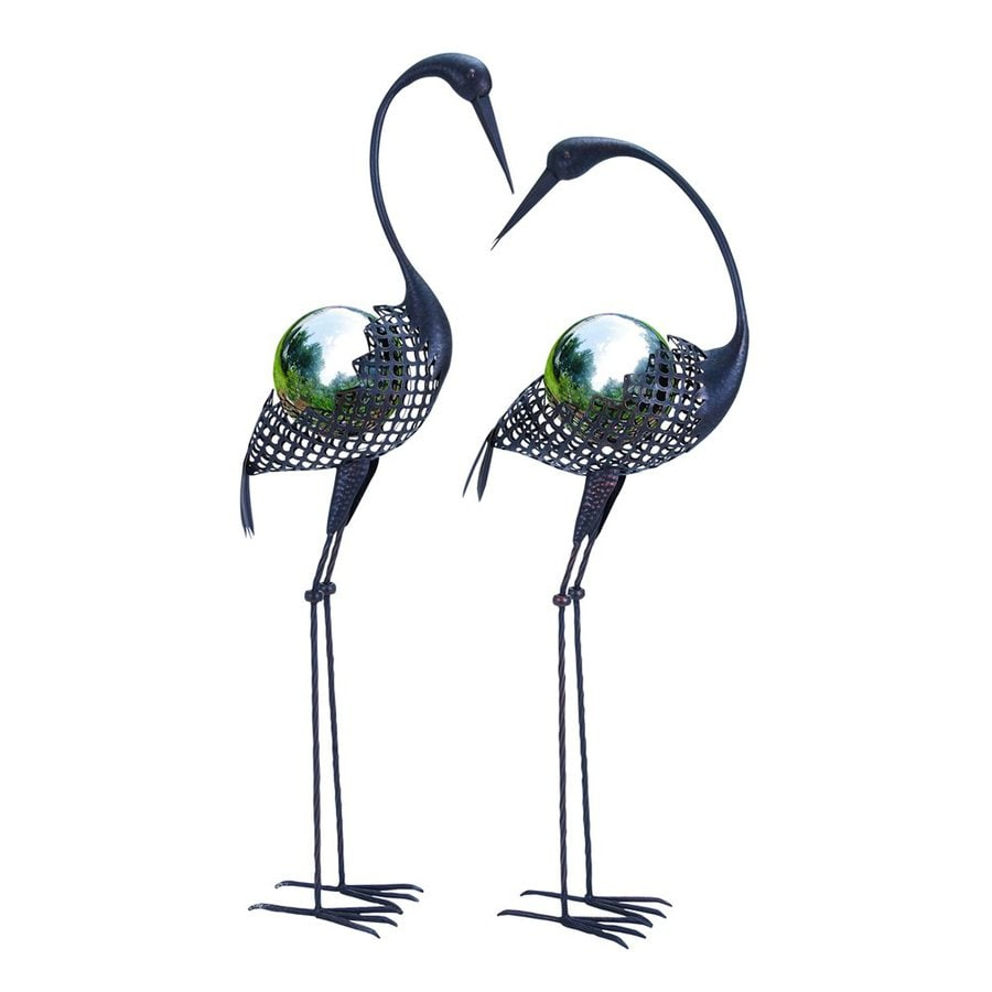 Woodland Imports Cranes 43-in Animal Garden Statue