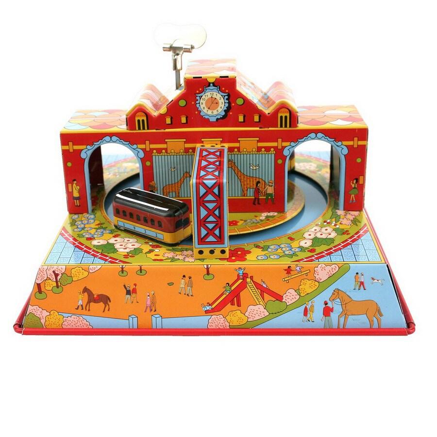 Alexander Taron Taron Tin Wind-Up Circus Train