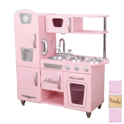 Pink Personalized Vintage Kitchen