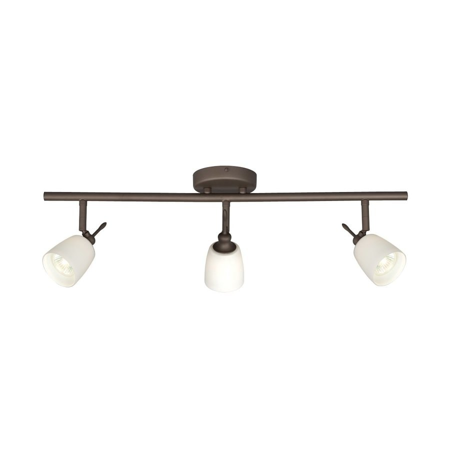 Shop Galaxy 3 Light 25 In Oil Rubbed Bronze Dimmable Fixed