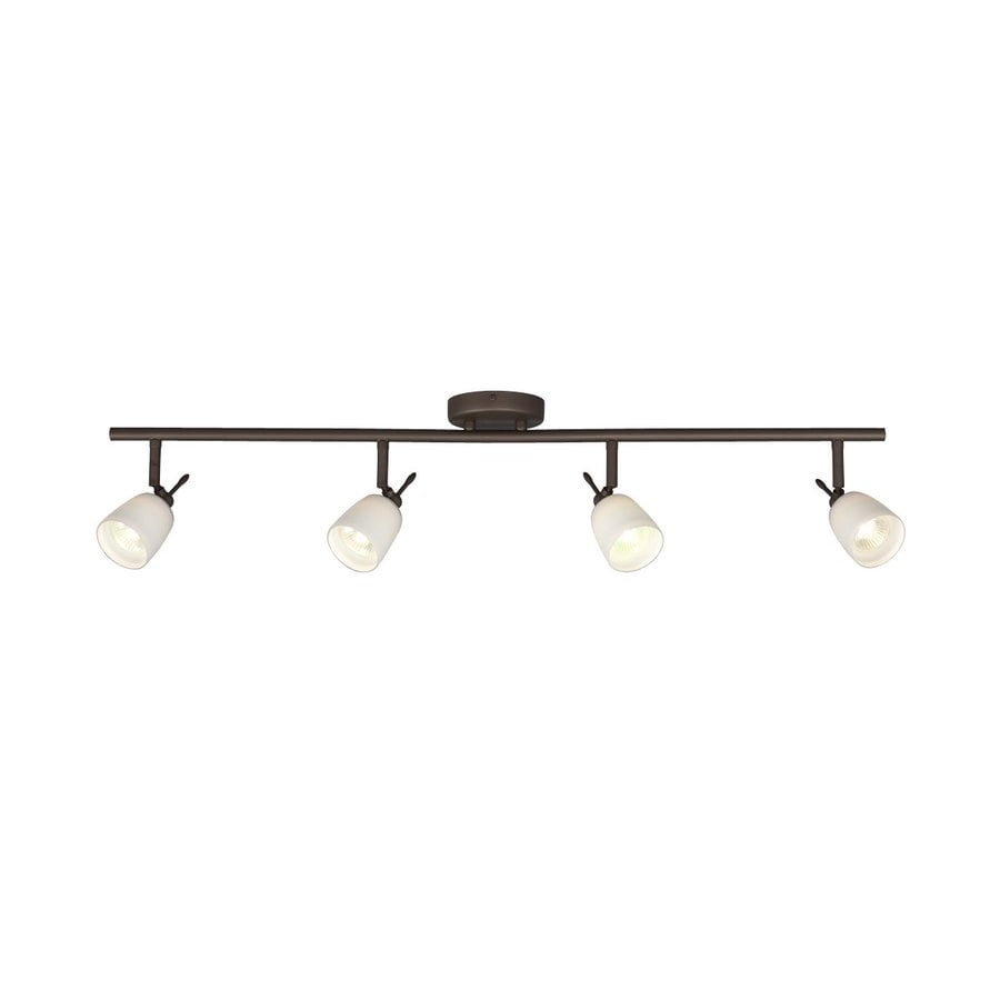 Shop Galaxy 4Light 35in OilRubbed Bronze Dimmable Fixed Track