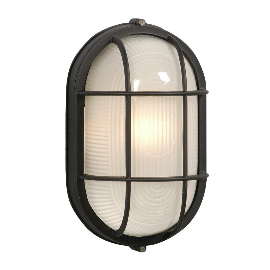 Galaxy Marine 11 125 In H Black Outdoor Wall Light At Lowes