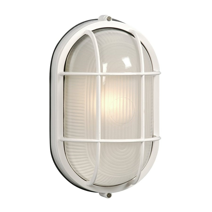 Galaxy Marine 11.125-in H White Outdoor Wall Light at ...