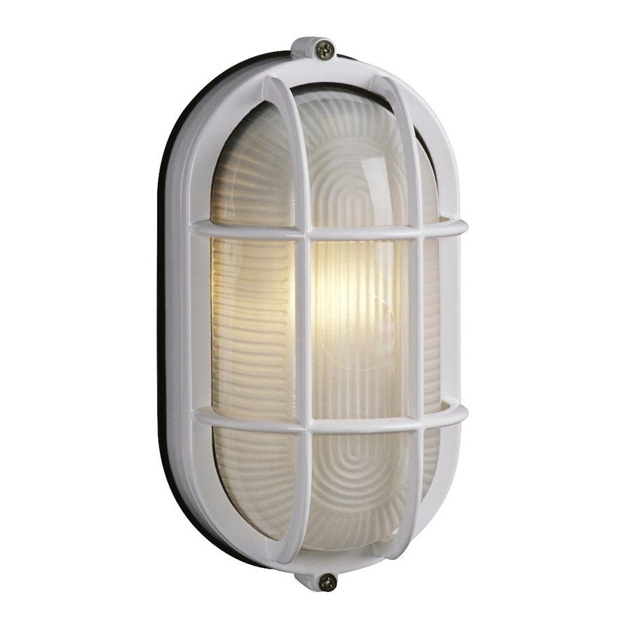 Galaxy Marine 8.375-in H White Outdoor Wall Light