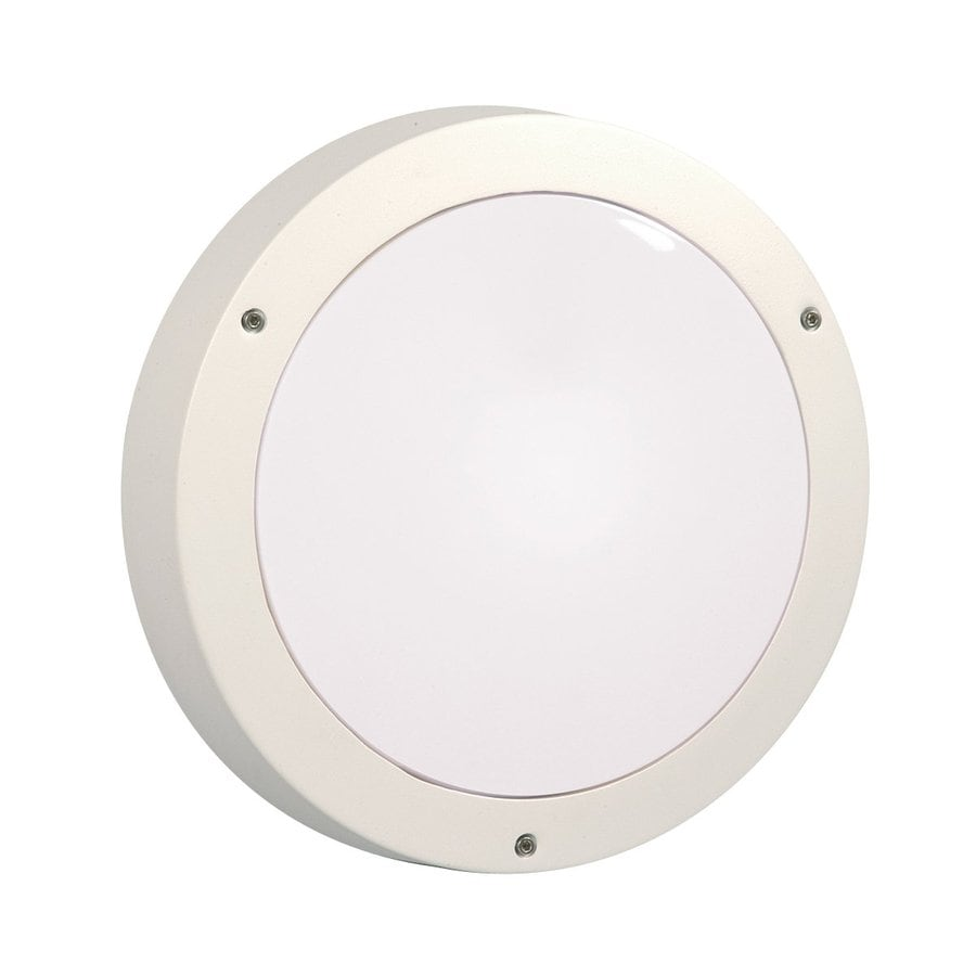 Galaxy Marine 14-in H White  Medium Base (E-26) Outdoor Wall Light
