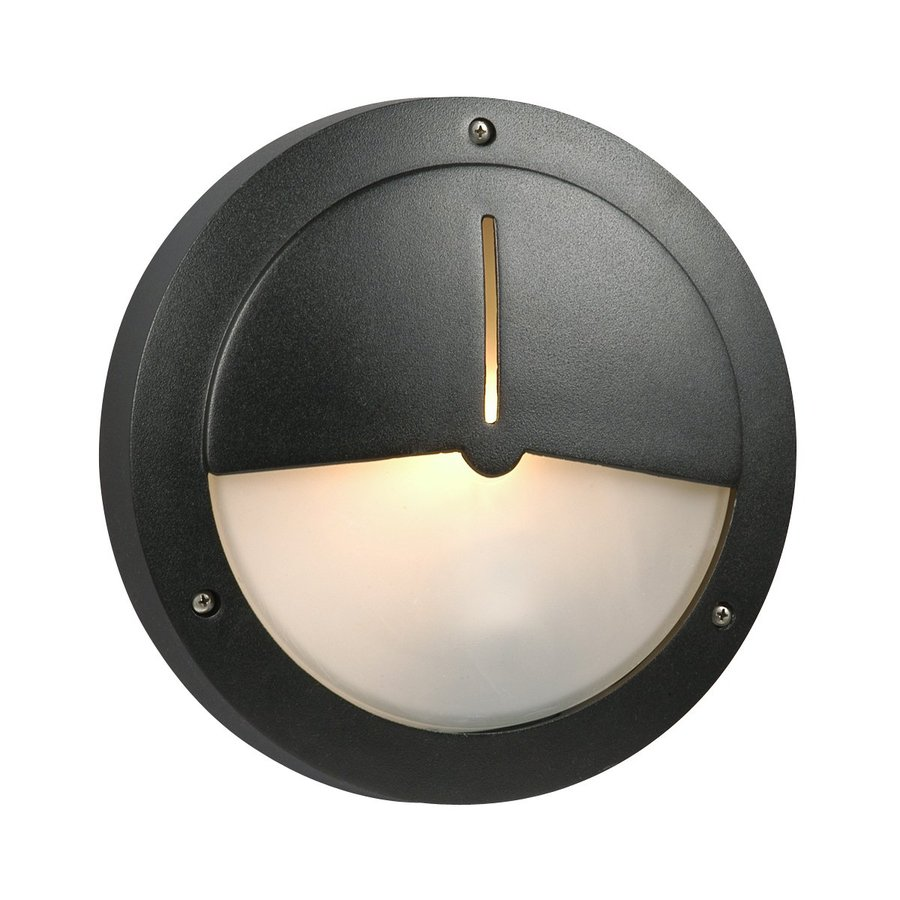 Shop Galaxy Marine 10625 In H Black Outdoor Wall Light At