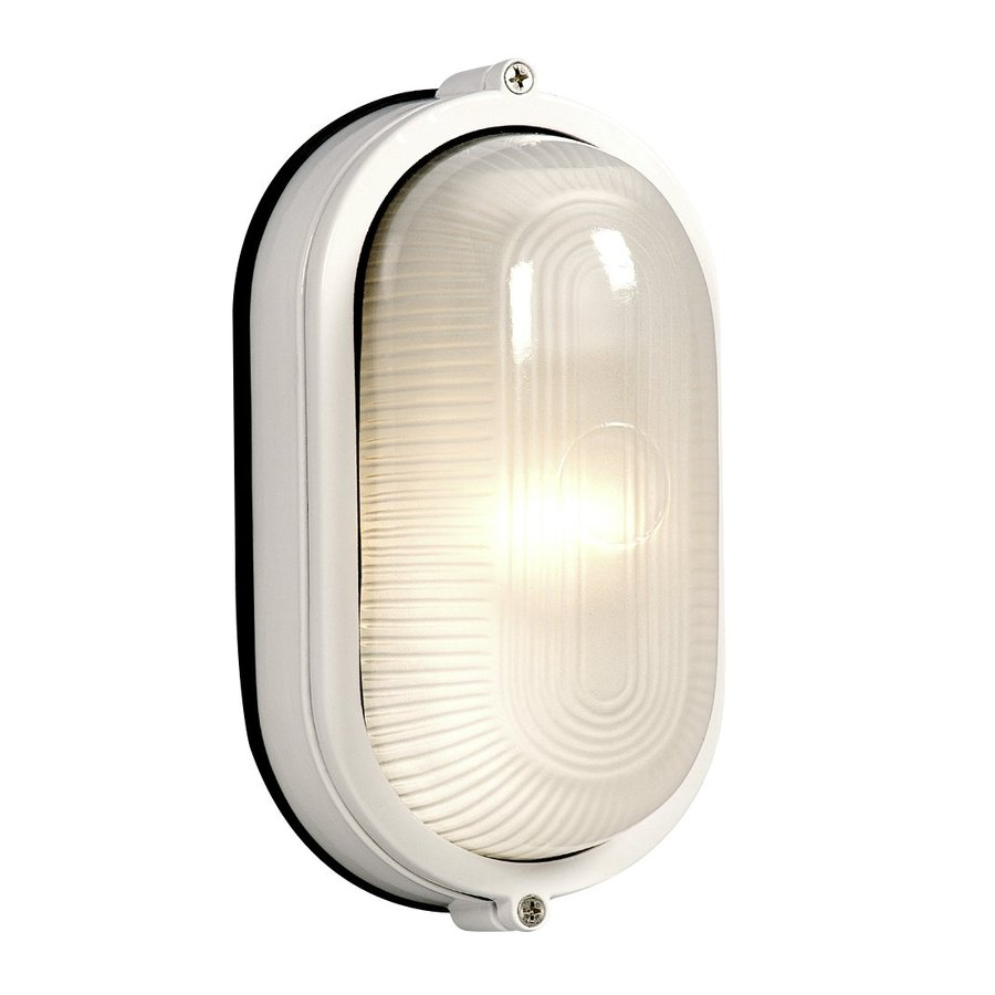 Galaxy Marine 8.375-in H White  Medium Base (E-26) Outdoor Wall Light