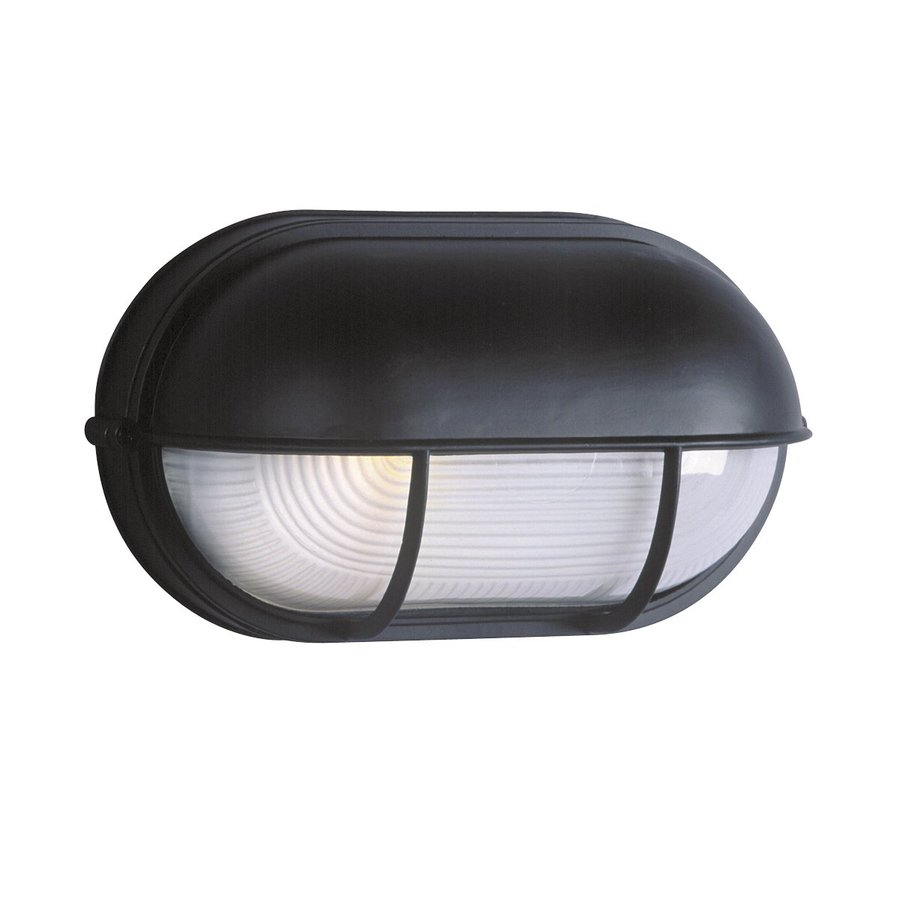 Galaxy Marine 6.5-in H Black Outdoor Wall Light