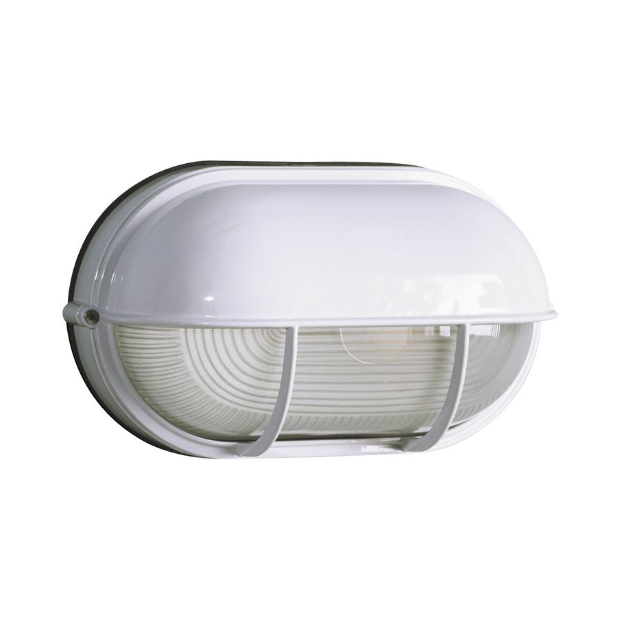 Galaxy Marine 6.5-in H White Outdoor Wall Light