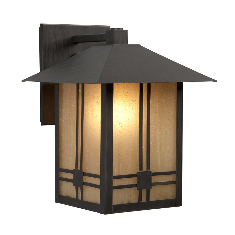 Galaxy 11-in H Oil-Rubbed Bronze Outdoor Wall Light
