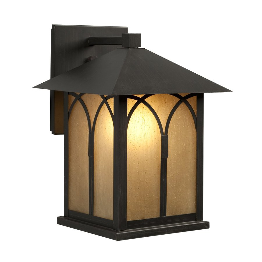 Galaxy 11.5-in H Oil-Rubbed Bronze Outdoor Wall Light
