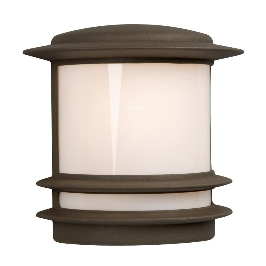 Galaxy 9.5-in H Bronze Outdoor Wall Light