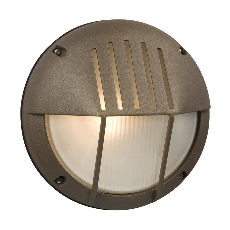 Galaxy Marine 8.5-in H Bronze Outdoor Wall Light