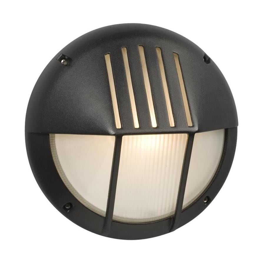 Galaxy Marine 11.125-in H Black Outdoor Wall Light