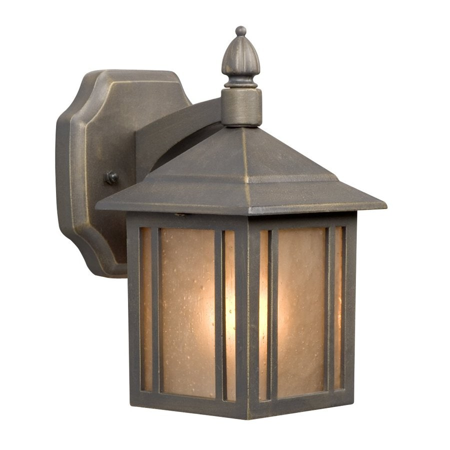 Galaxy 9-in H Oil-Rubbed Bronze Outdoor Wall Light